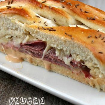 Reuben Bread   Recipes - Meals   Pinterest