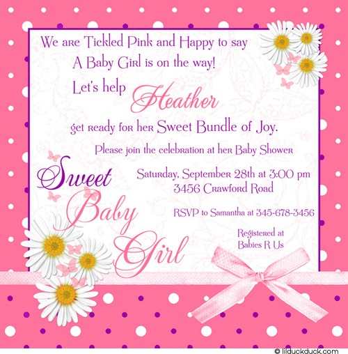 work baby shower invite email   feliciaday, Baby shower invitations