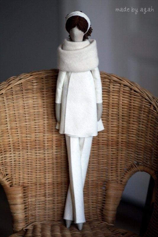 Пользовательские Ткань OOAK куклы