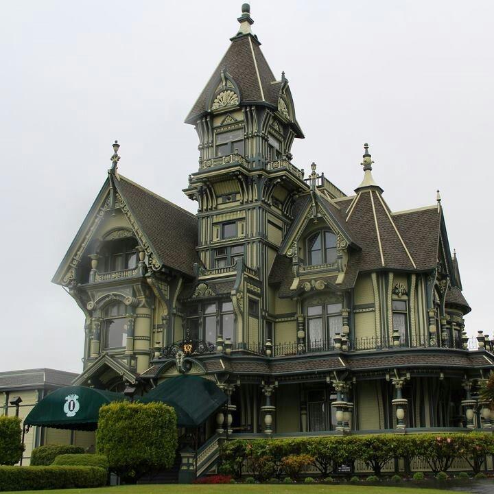 Carson mansion eureka california carson mansion on for Eureka ca cabins