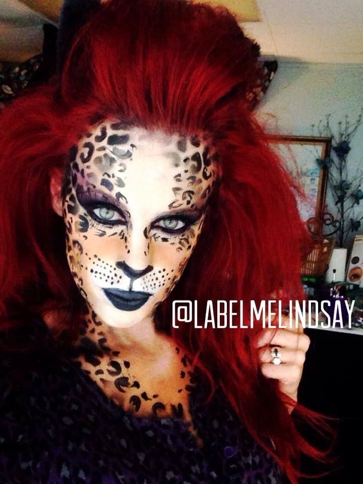 Leopard Makeup Cheetah Cat Halloween
