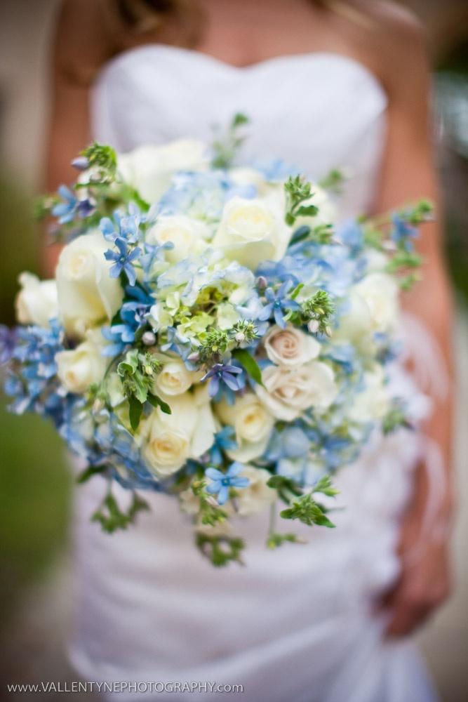 Wedding Bouquet Flower Combinations : Quot blue tweedia so sweetia isn t this green cream