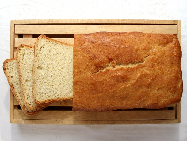 Kneadlessly Simple's County Fair White Bread | Recipe