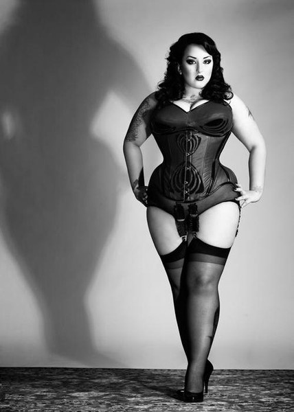 Corsets and stockings... Can't get more me than this.