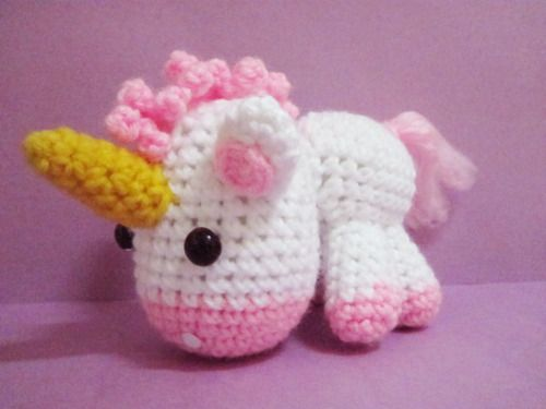 Tutorial Amigurumi Unicorno : Pin by Lorena Hernandez Lpz de Erenchun on Ill try to ...