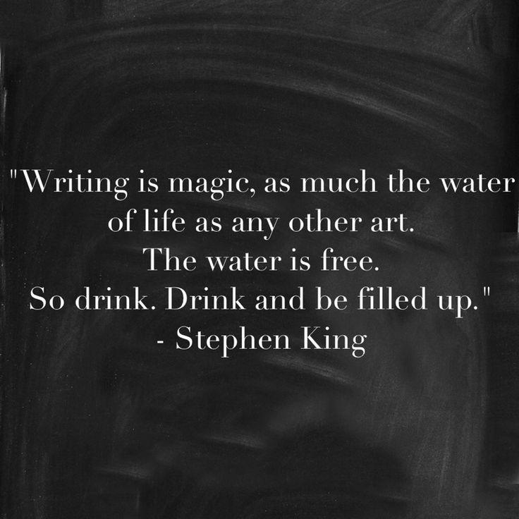 Stephen king essay