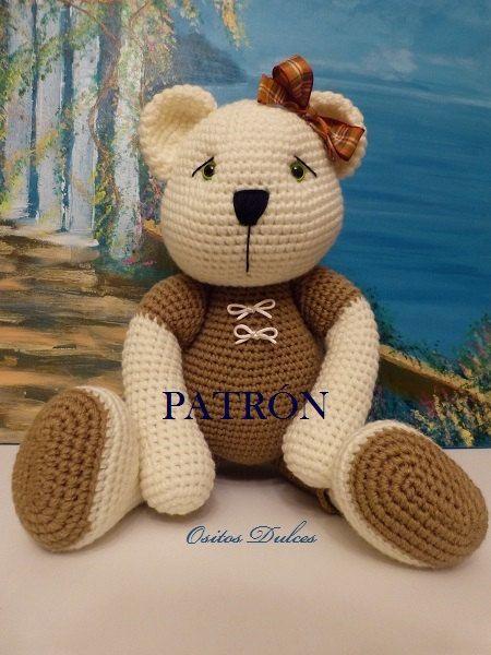 Amigurumi Today Cuddle Me Bear : Linda, Patron Amigurumi en PDF