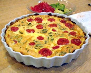 Cherry Tomato Clafoutis | Recipes - pizzas, savory tarts, and brusche ...