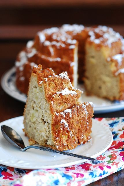 Apple cinnamon bundt cake by JuliasAlbum It's in the oven right now ...