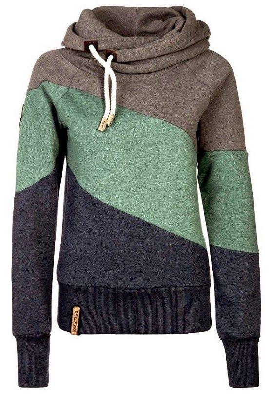 Colorful hoodies