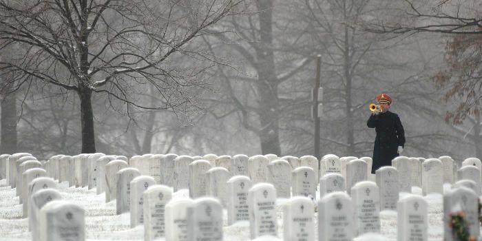 president arlington cemetery memorial day