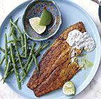 Orange-Roasted Salmon with Yogurt-Caper Sauce | Recipe