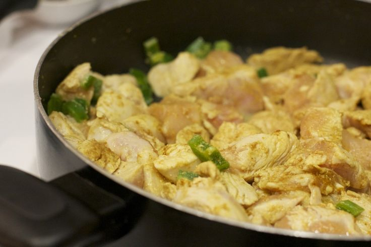 Paleo Coconut Chicken and Plantain Curry | FOODS | Pinterest