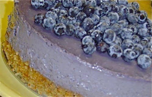 Blueberry Cardamom Ice Cream Cake | Raw Food Gourmet | Pinterest