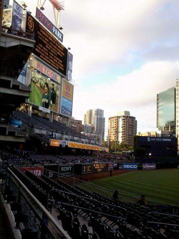 Petco Park San Diego-Padres Game!