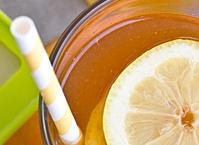 ... Charleston Tea Plantation + Iced Tea with Honey Lemon Ginger Ice Cubes
