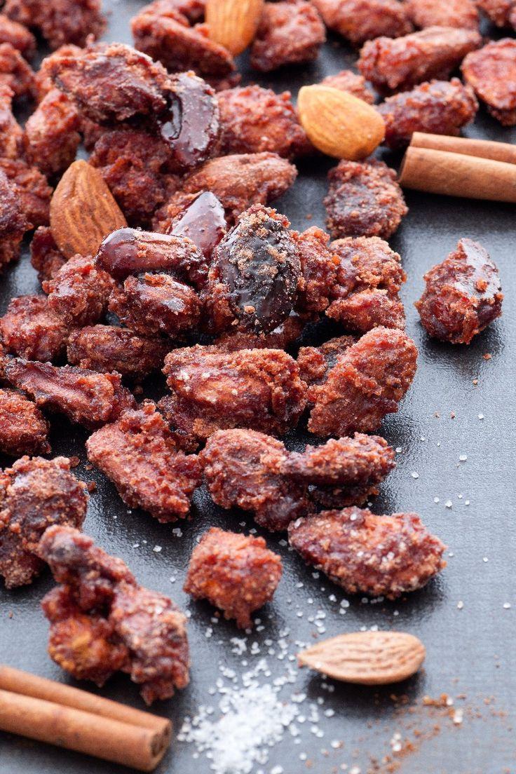 Cinnamon-Roasted Almonds Recipe | Yummys | Pinterest