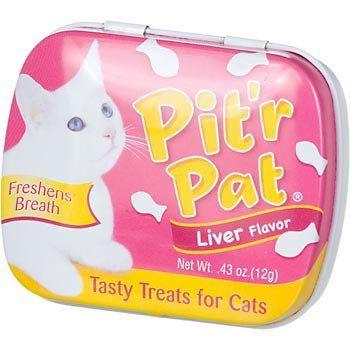 75-$2.99 Chomp Pit'r Pat Liver Flavor Tasty Treats for Cats - Liver ...