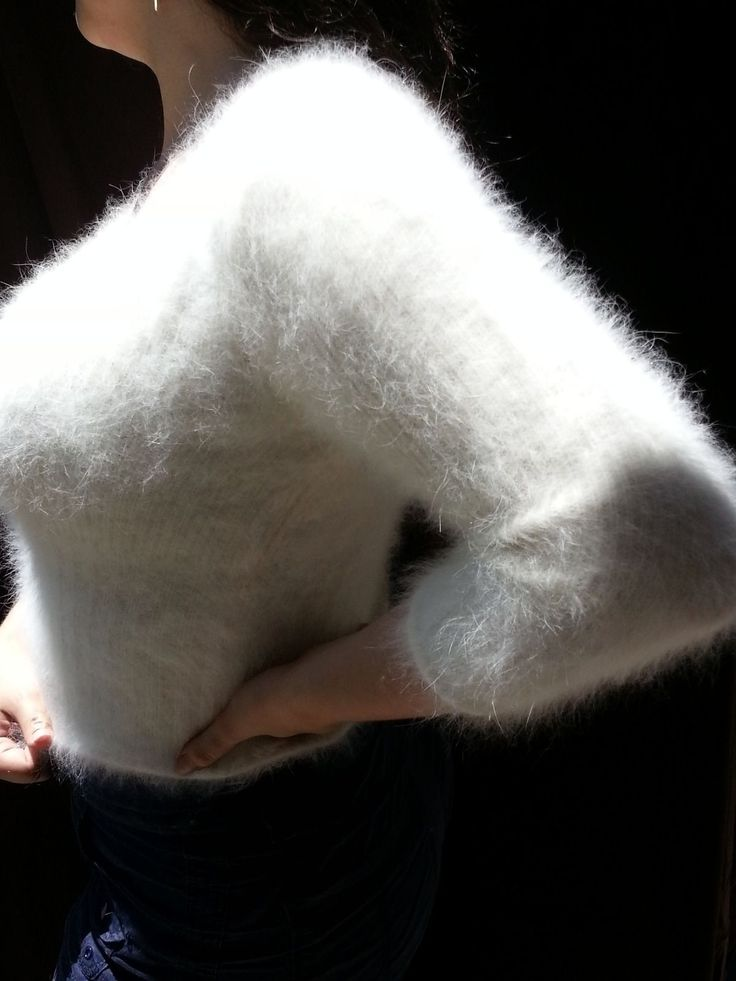 Long White Sweater
