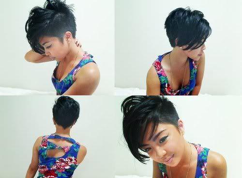 short hair, haircut, asymmetrical haircut, asymmetrical hair, shaved, undercut | How Do It