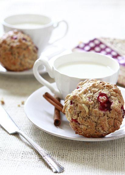 Apple Cranberry Oatmeal Muffins | Recipe