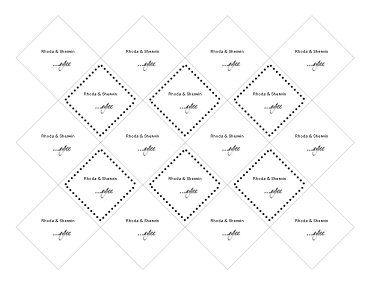 DIY Favor Tag Template Favor Box template Pinterest