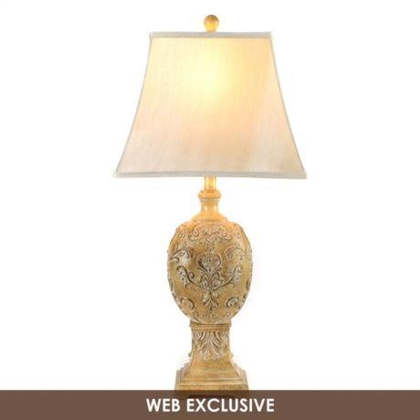 Lockhart Tan Table Lamp