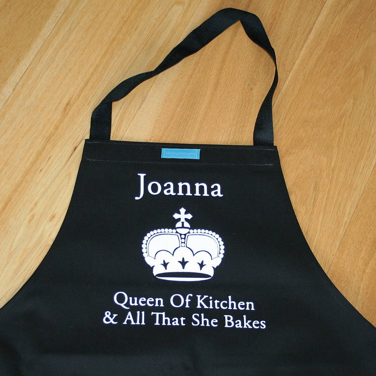 personalised apron for father's day