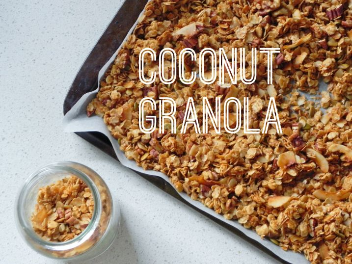 coconut granola | Recipes | Pinterest