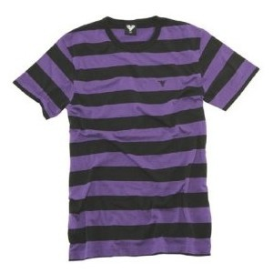 Black and purple striped shirt lookbook things i have for Purple and black striped t shirt