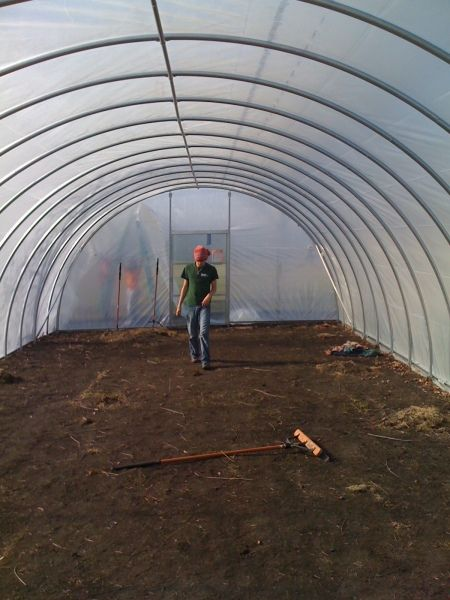 how to build a pvc greenhouse