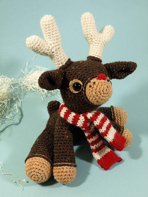 Free Crochet Amigurumi Cat Pattern : free reindeer pattern Crochet Pinterest