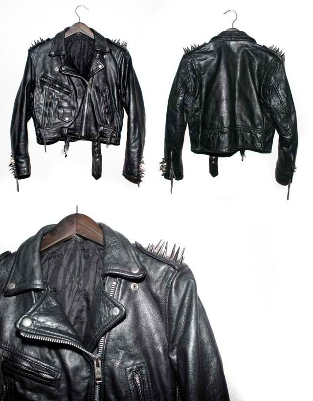 Leather jacket styles | M O T A R D | Pinterest