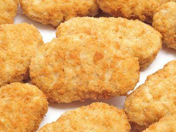 Crispy Chicken Nuggets 178 calories! | Low Calorie | Pinterest