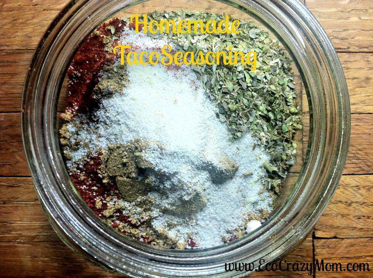 Homemade Taco Seasoning 2 T Chili Powder 1 t Ground Cumin 1 t ...