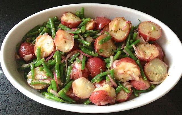 Warm Potato, Green Bean & Red Onion Salad Ready in 20 Minutes @ Fresh ...