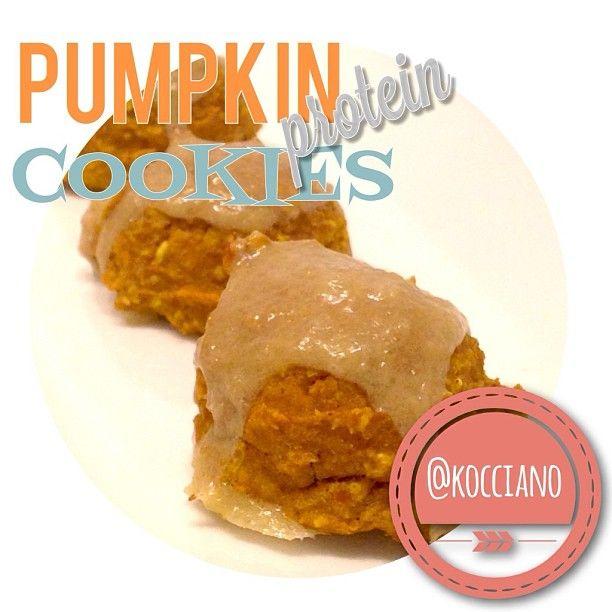 Pumpkin Protein Cookies | Eat clean get lean | Pinterest