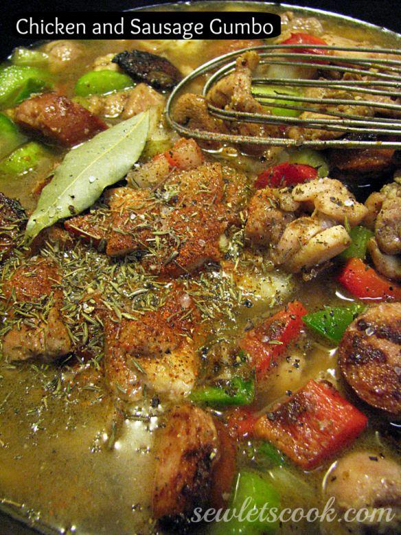 Chicken And Sausage Gumbo Recipe — Dishmaps