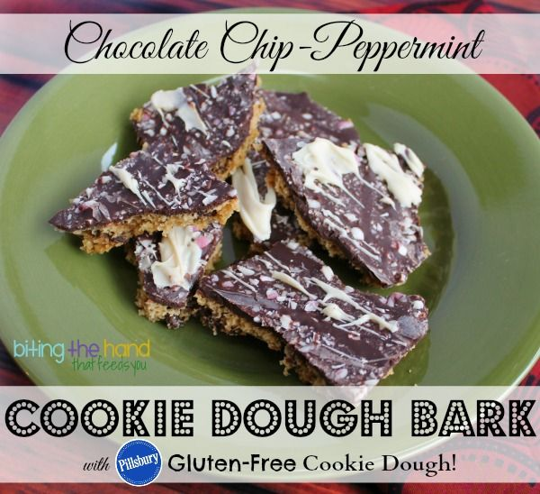 EASY Gluten-Free {Dairy-Free} Peppermint Chocolate Chip Cookie Bark ...