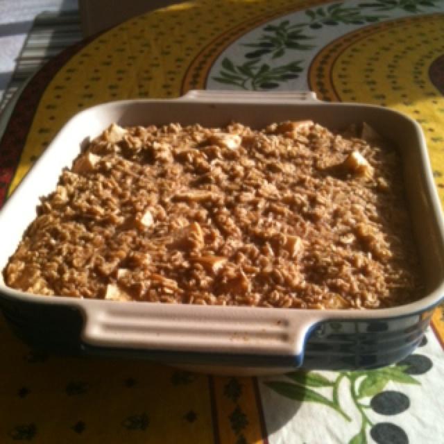 Baked cinnamon apple oatmeal. | Recipe Ideas | Pinterest