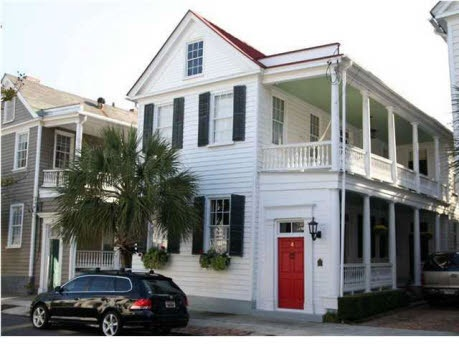 Charleston row house curb appeal pinterest for Charleston row houses