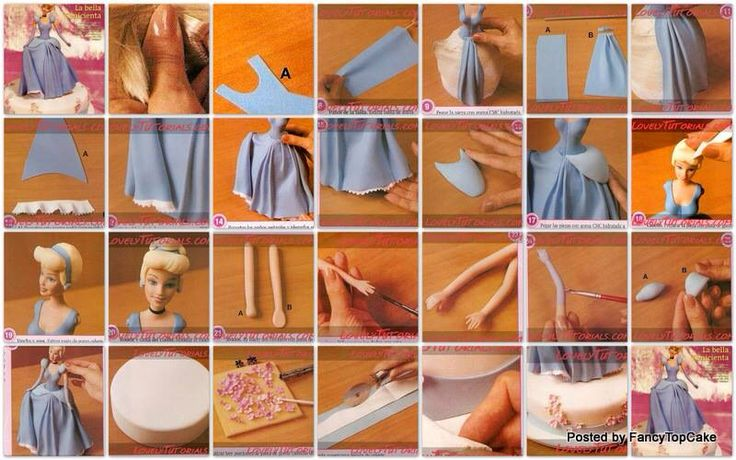 fondant figurine tutorial