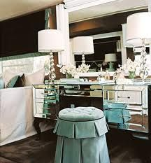 turquoise & brown bedroom