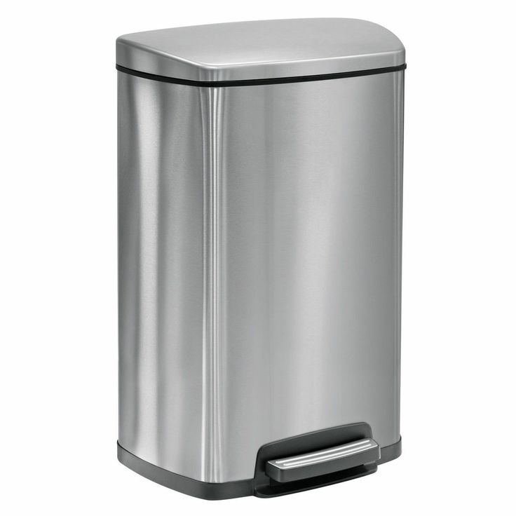 13 G Commercial Trash Waste Can Office Bathroom Garbage Bin Home Stai