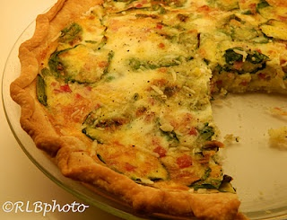 Quiche: Spinach, Ham,& Parmesan Cheese | Foods that look yummy.....bu ...