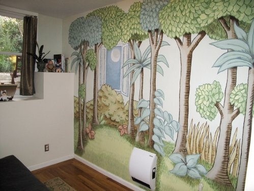more like this nursery wall murals nursery murals and murals. Black Bedroom Furniture Sets. Home Design Ideas