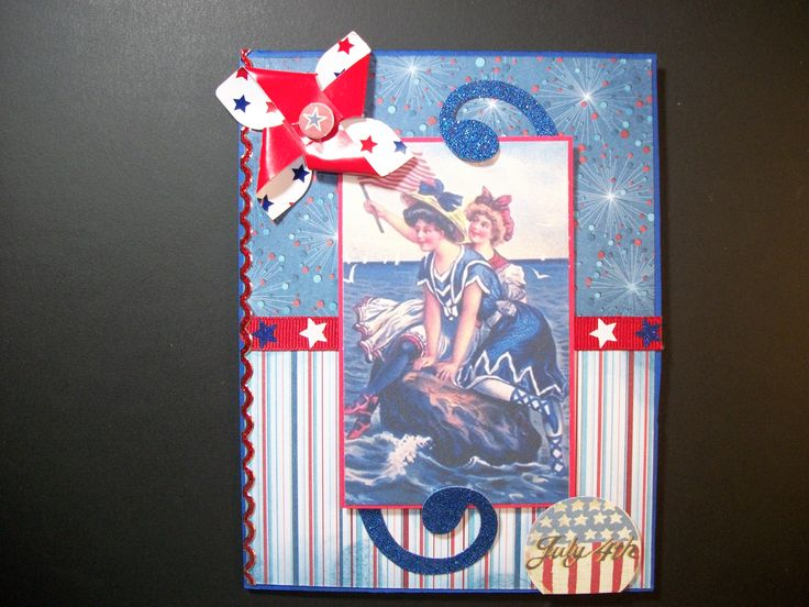 pinterest july 4th cards