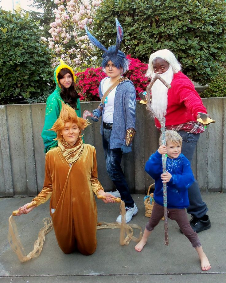 Rise of the Guardians Group / Cosplay | Halloween Costume ... Rise Of The Guardians Cosplay