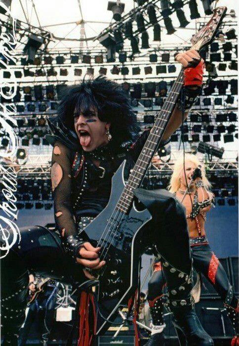 Shout At The Devil.....NIKKI SIXX!   Nikki and Tommy Rock ... Nikki Sixx Shout At The Devil
