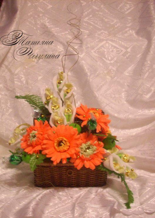 Цветы на бокалах мастер класс